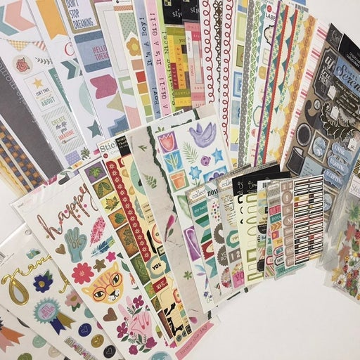 Large Sticker Lot
