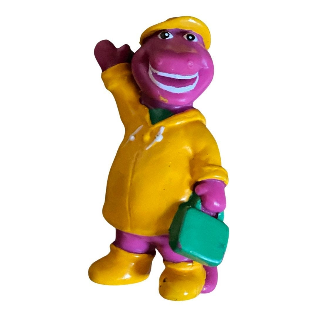 Vintage 1998 Rainy Day Barney & Friends