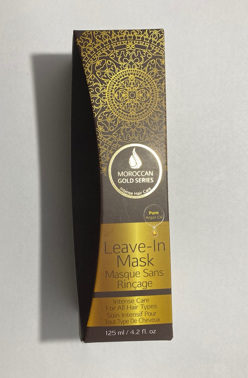 Moroccan Gold Series Leave-in hair mask