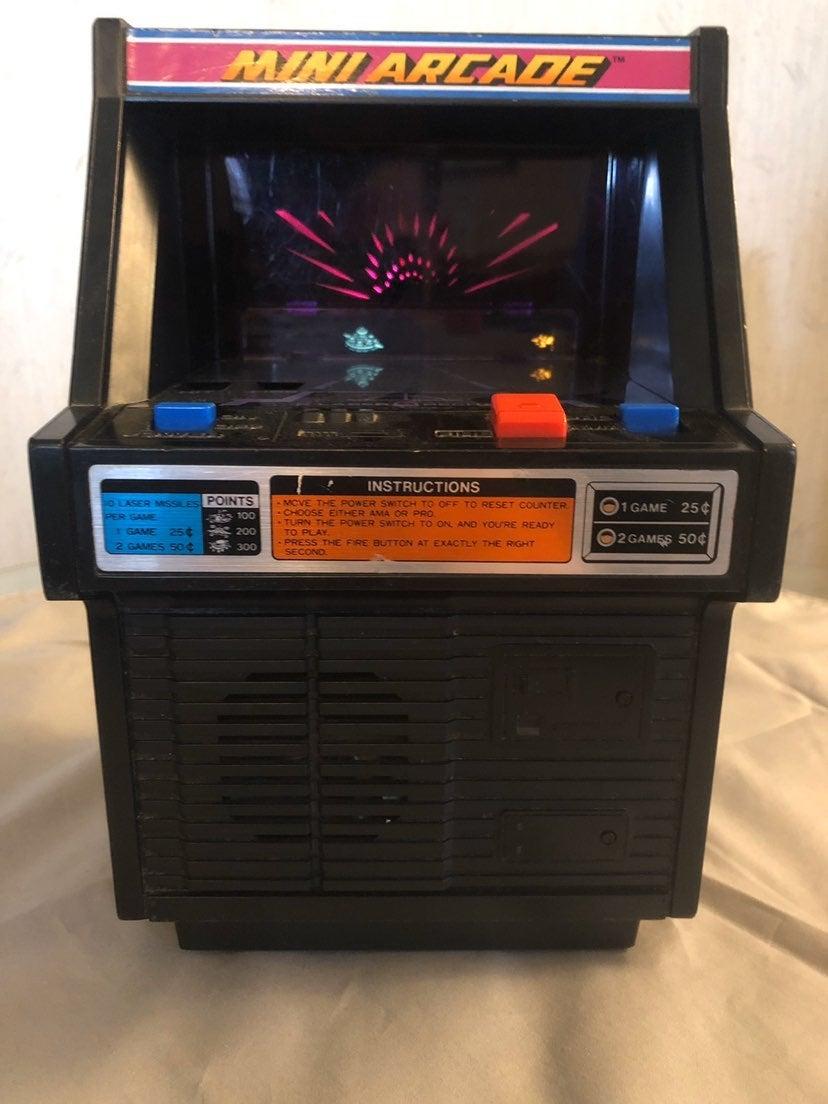 Tomy Cosmic Clash Mini Arcade Game 1982