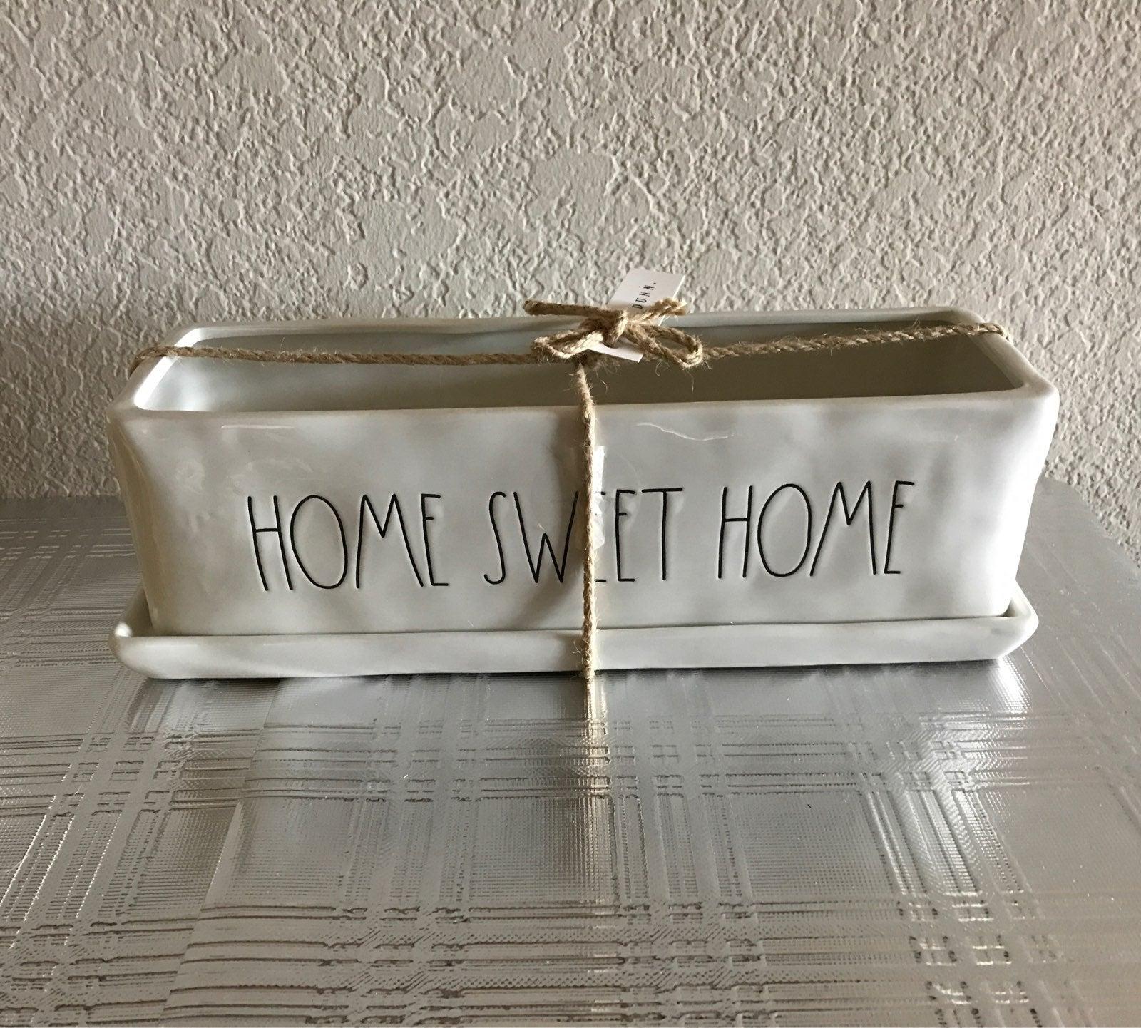 Rae Dunn HOME SWEET HOME Planter
