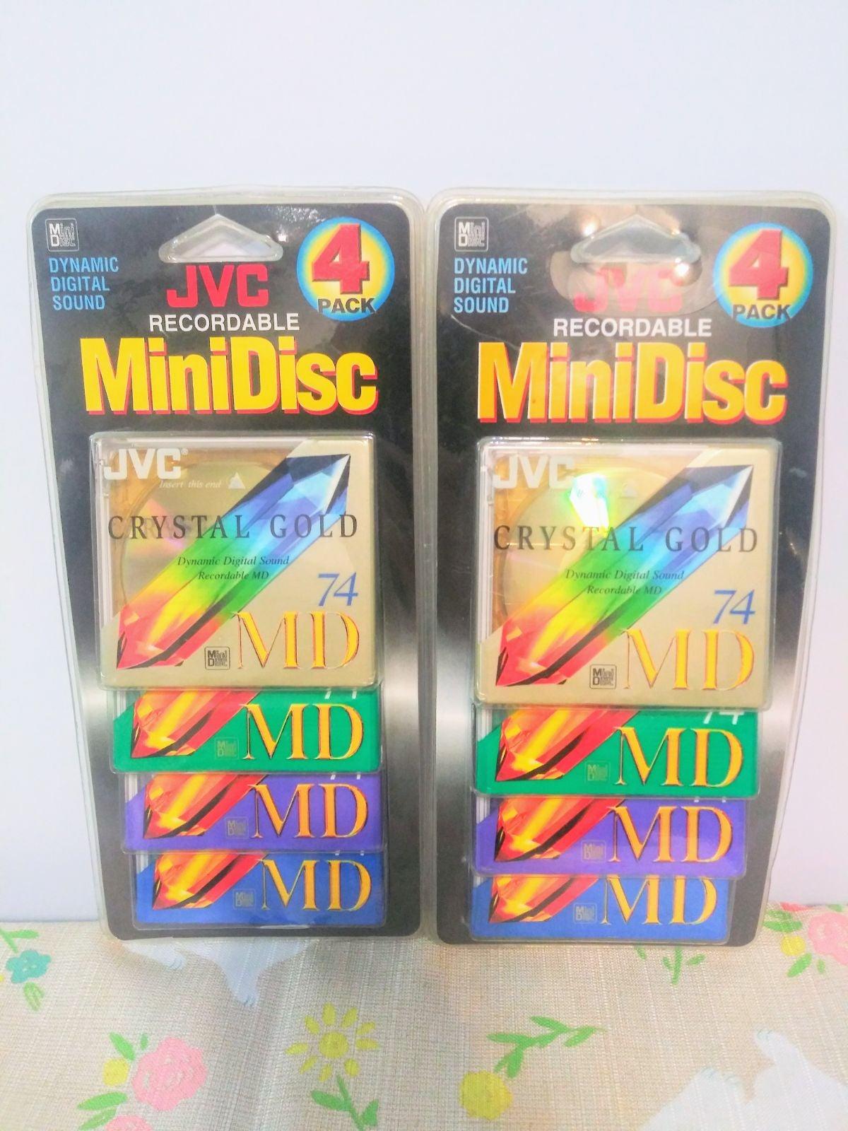 JVC Recordable Mini Disc Lot