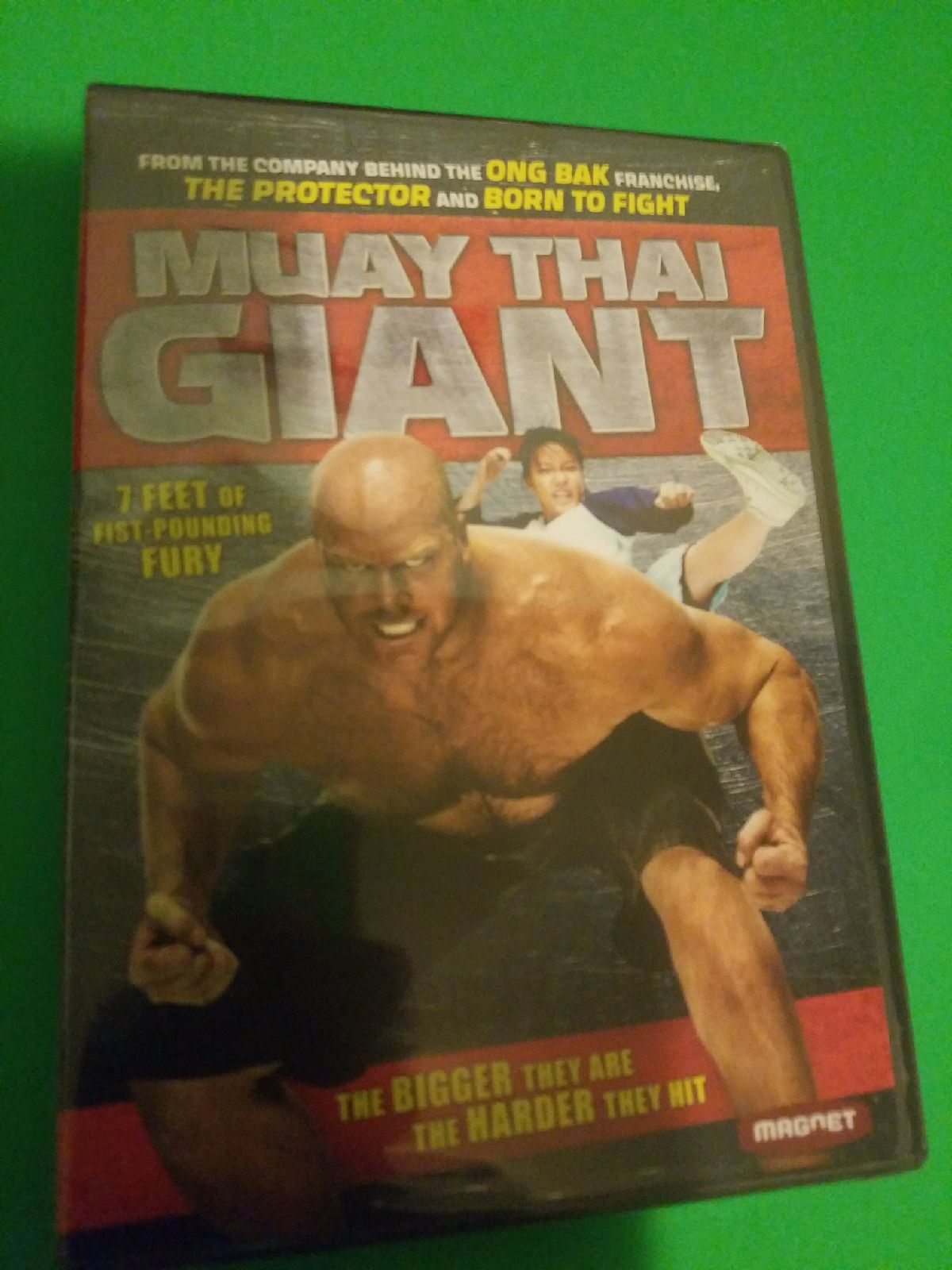 Muay Thai Giant DVD sealed brand new