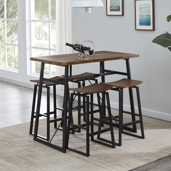 Homissue 5-Piece Dining Table Set