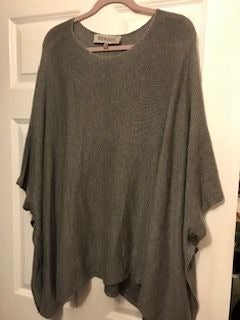 Remain Poncho/Cape XS/S NWT Grey