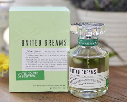 United Dreams Live Free Perfume Benetton