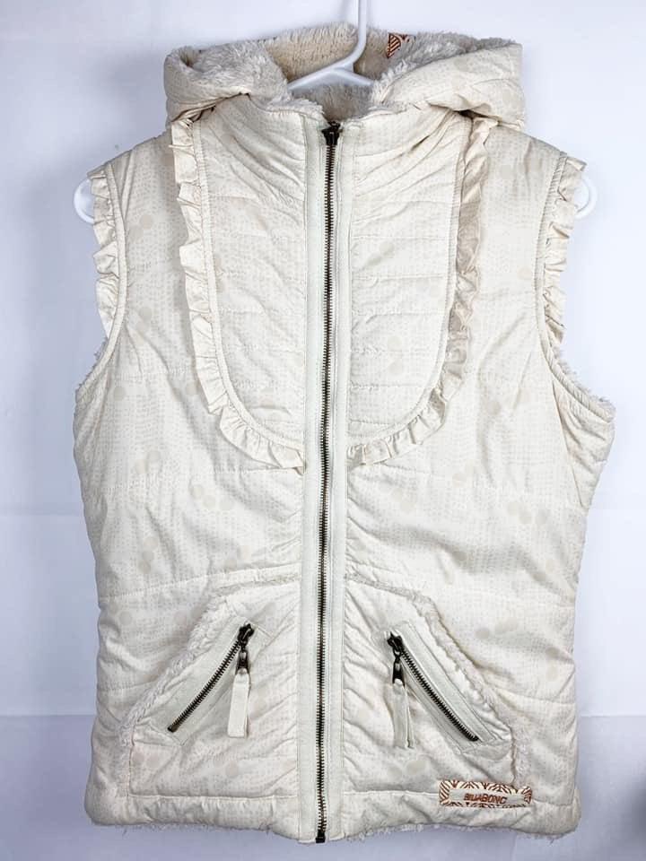Billabong Hooded Vest Medium