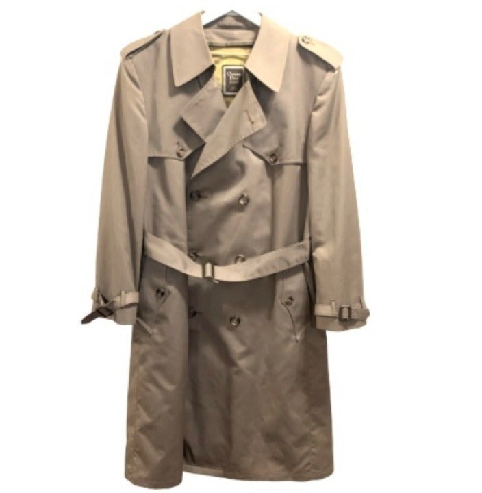 Vintage Christian Dior Monsieur Trench
