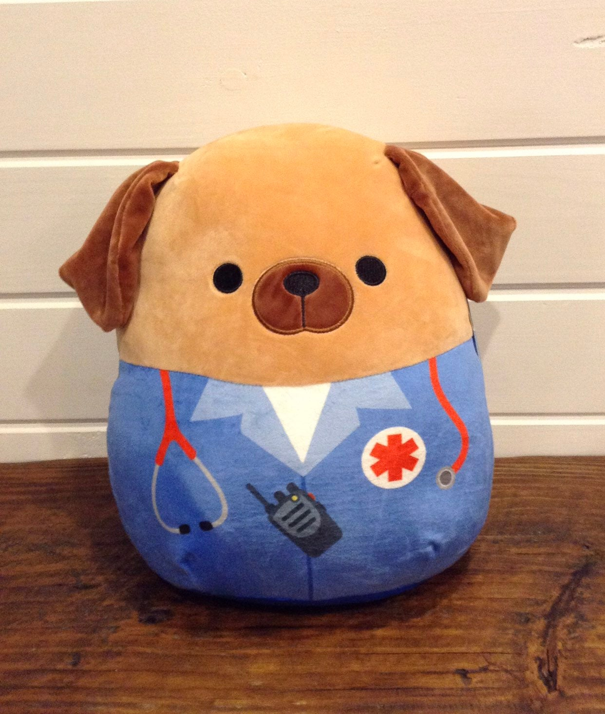 """Squishmallow 12"""" Daryl ~ First Responder"""