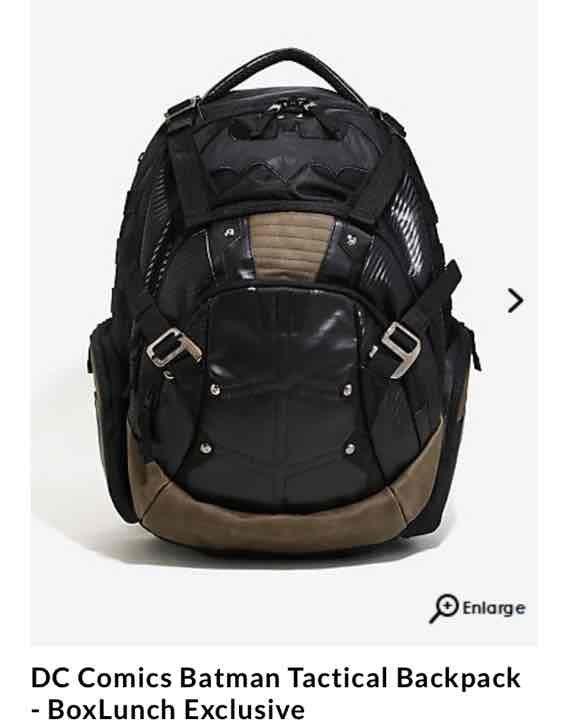 Dc comics Batman backpack