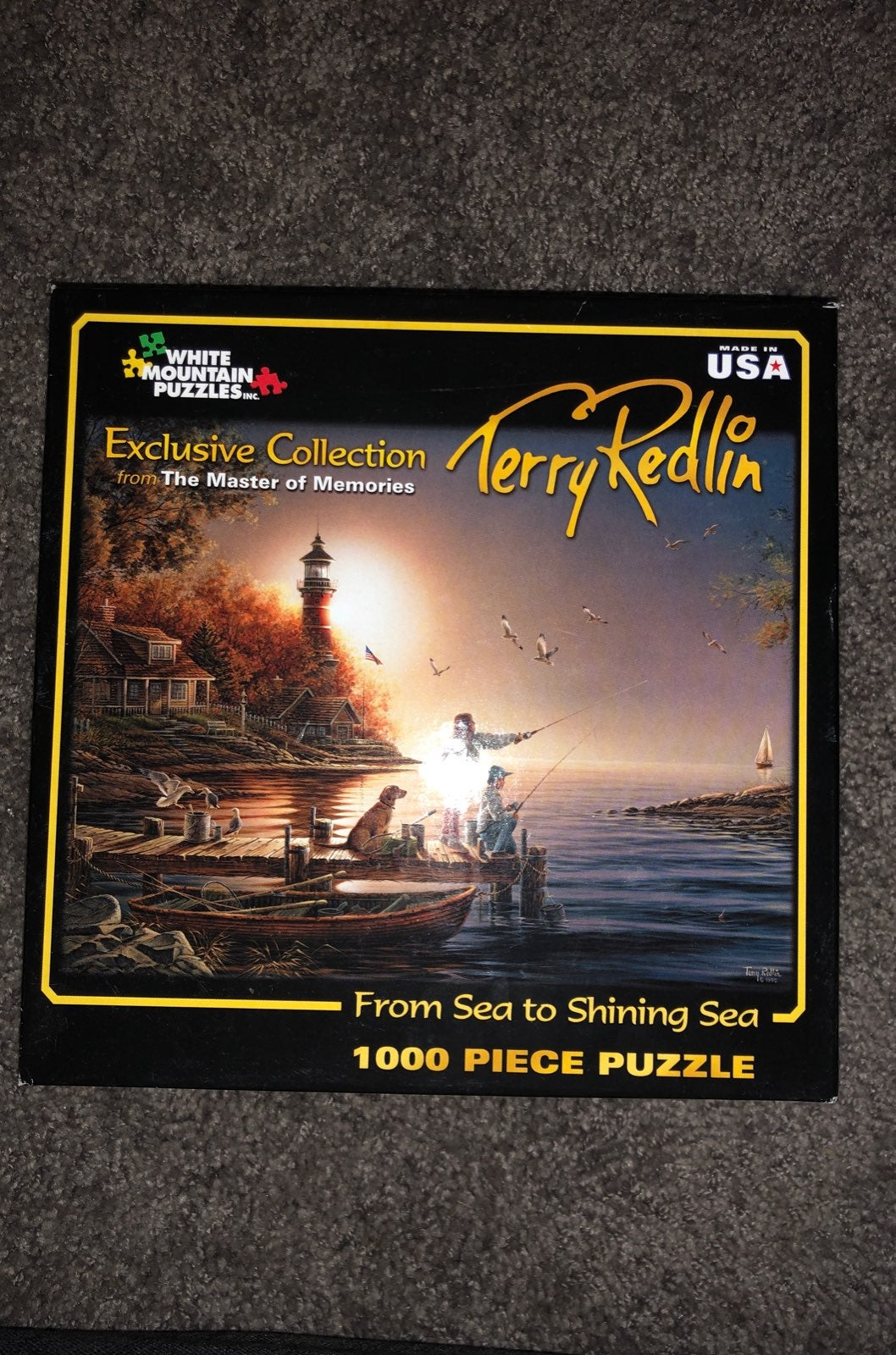 Terry Redlin puzzle From Sea to Shining