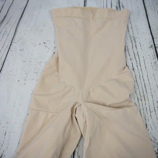 SPANX mid thigh Shaper Shorts XL nude