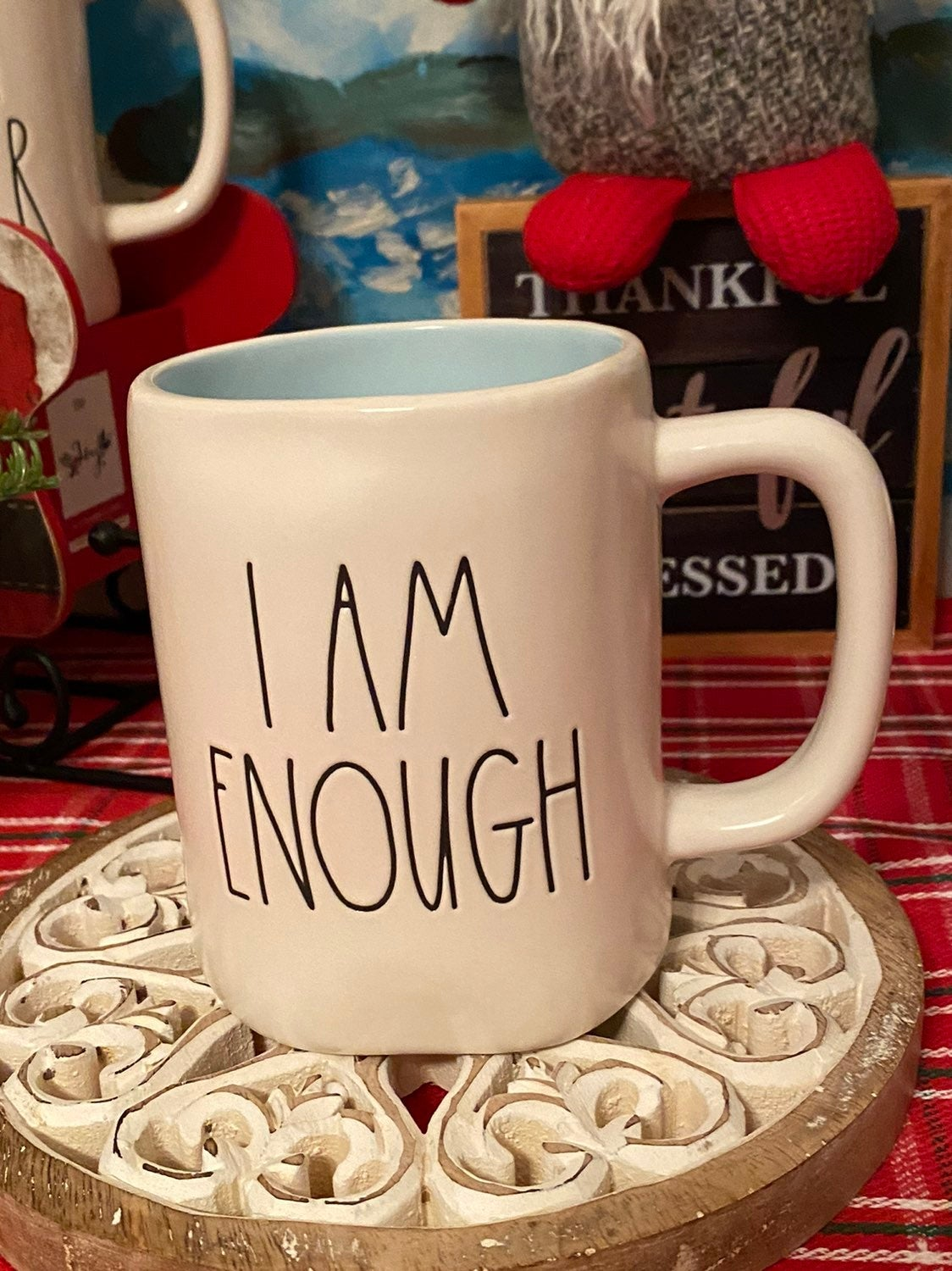 Rae Dunn I AM ENOUGH Mug