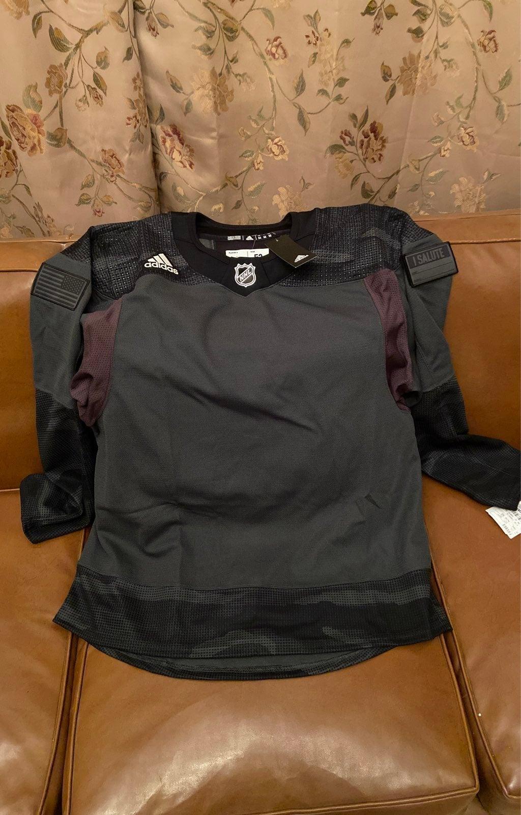 NHL Adidas Military Blank Jersey