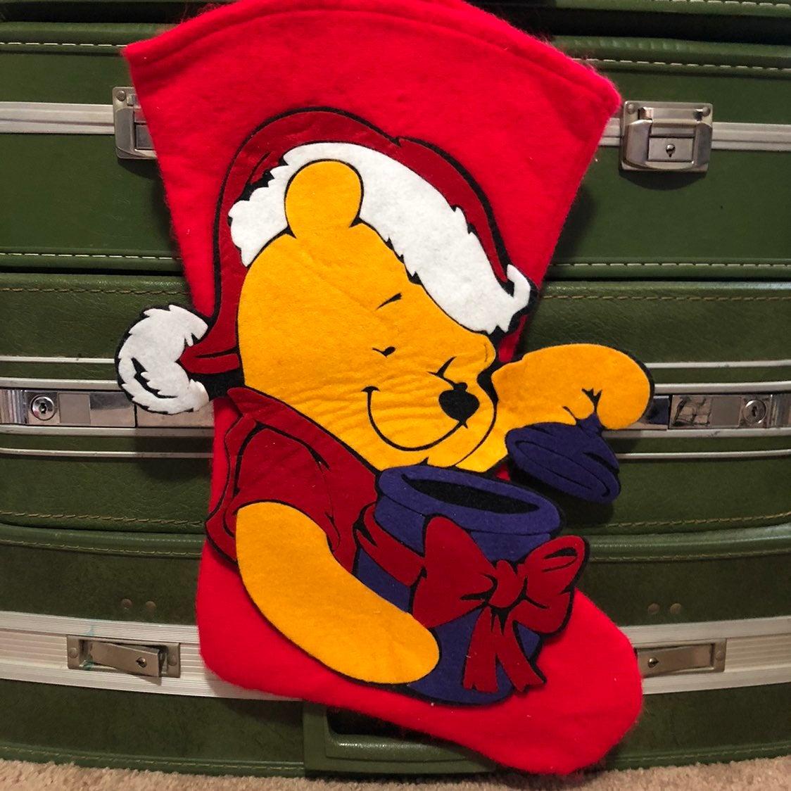 Vintage Disney Winnie the Pooh Stocking
