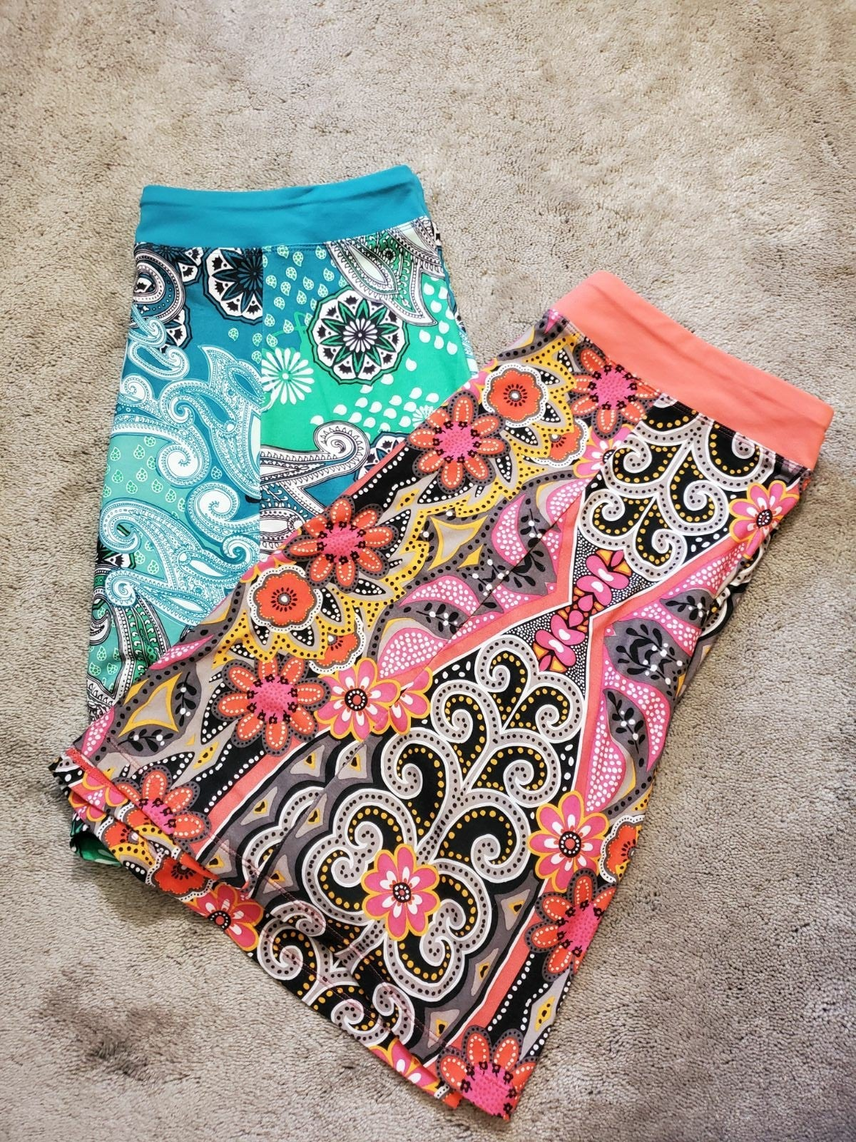 Lot of 2 prAna Sustainable Active Skirts