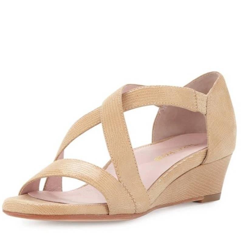 Taryn Rose Nude Saraia D'Orsay Sandals