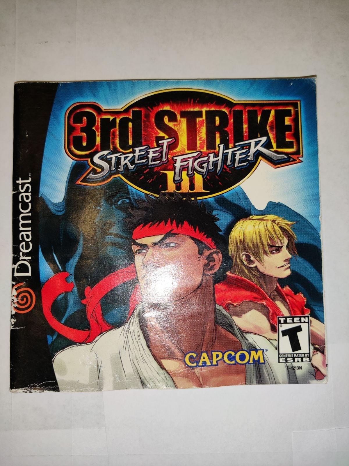 Street Fighter 3rd Strike Manual