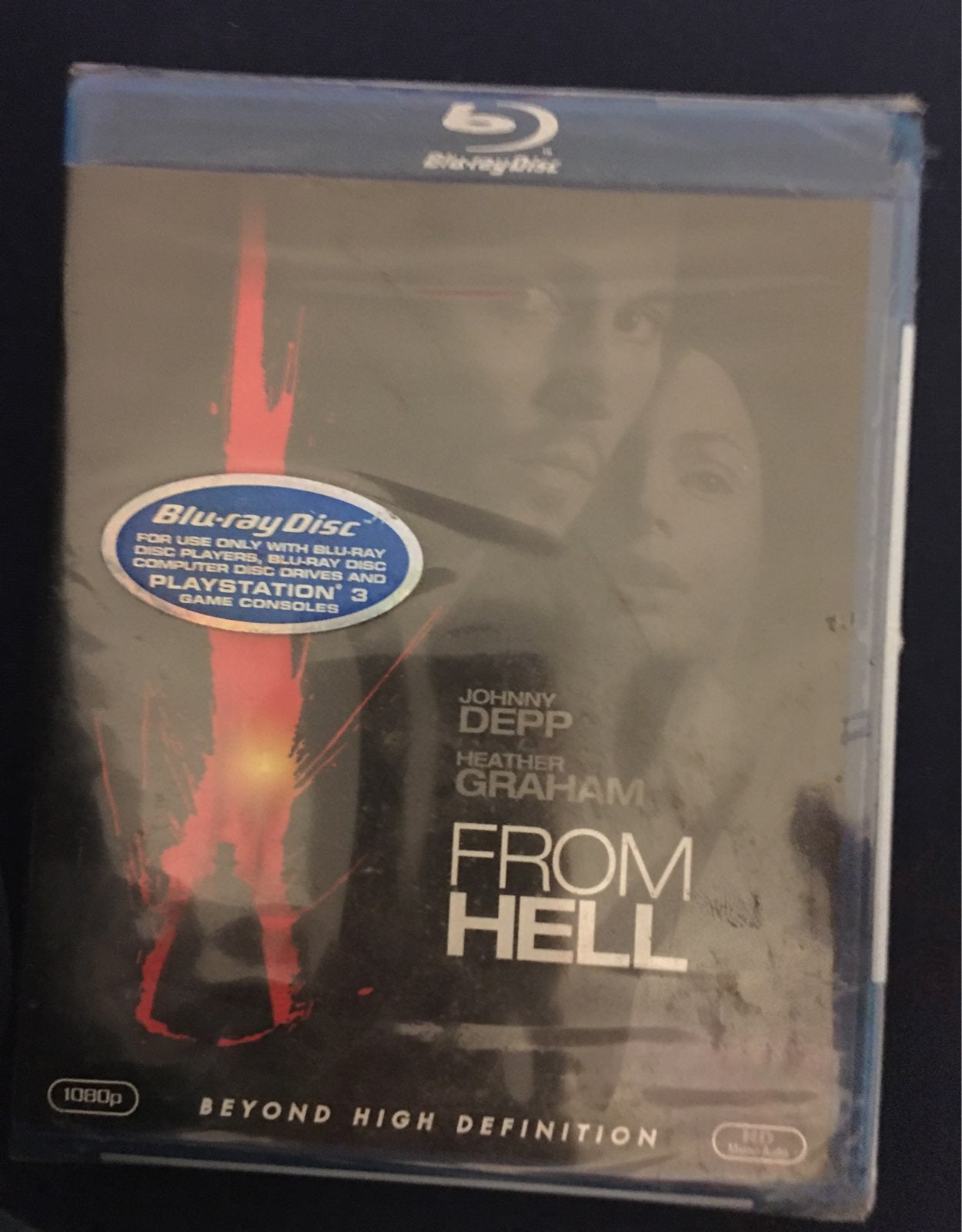 From Hell blu-ray disc. Beyond high defi