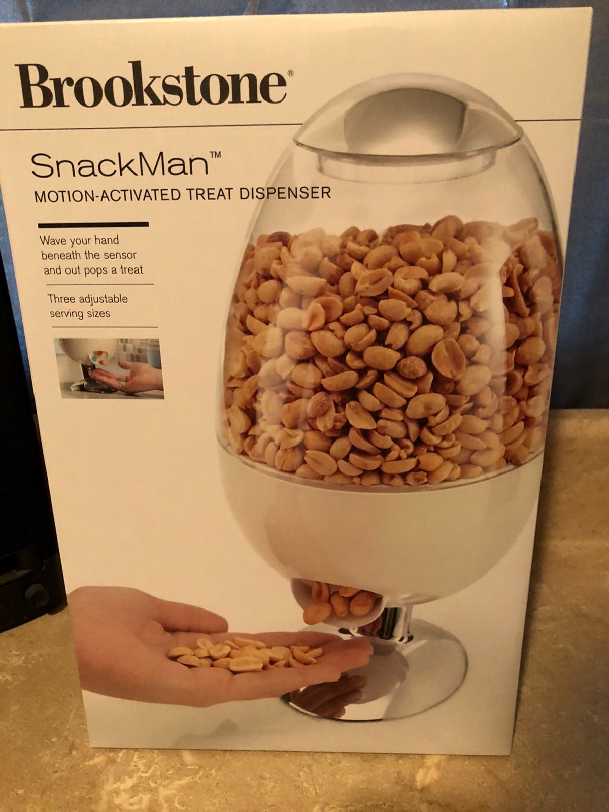 Brookstone SnackMan New Motion Activated