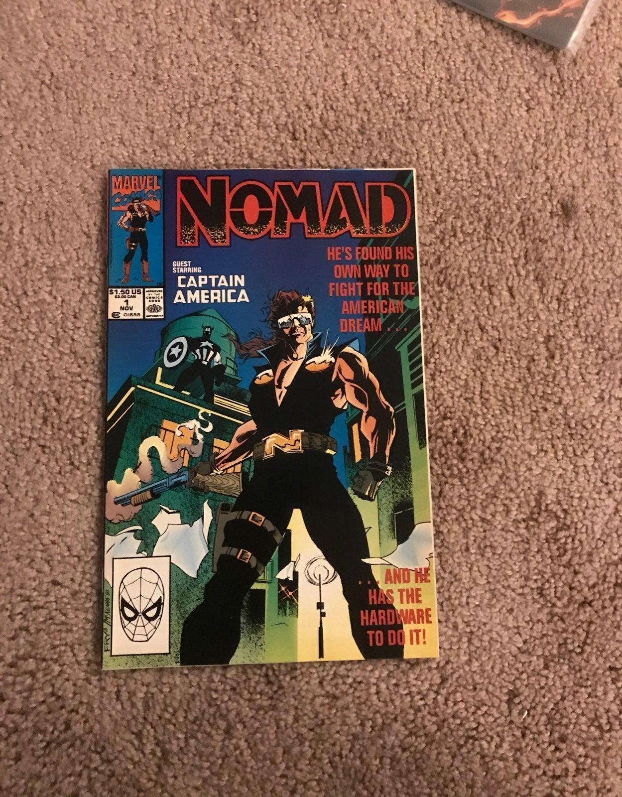 Marvel Nomad comic number 1