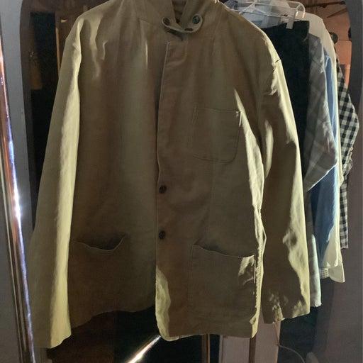 Men's coat and a button down dress shirt