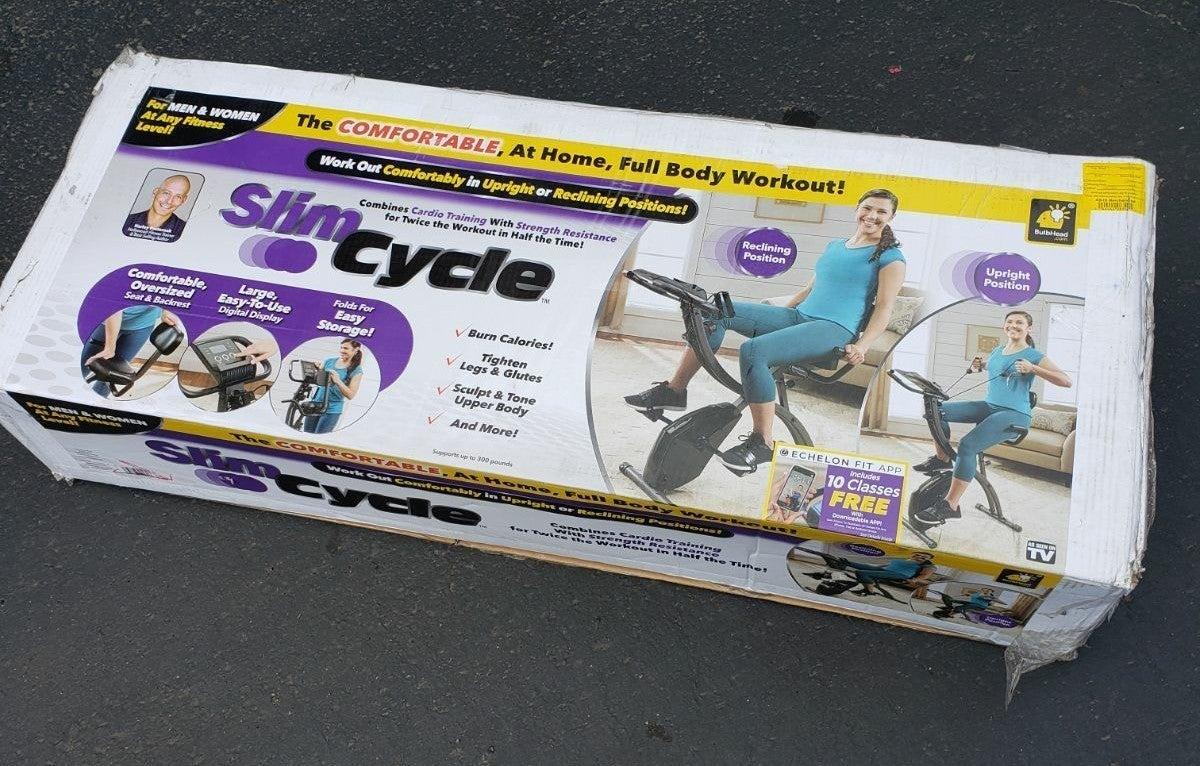 Slim cycle bike