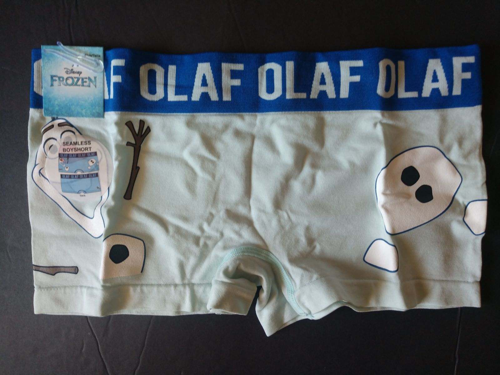 Large Frozen Olaf Boyshorts Panties