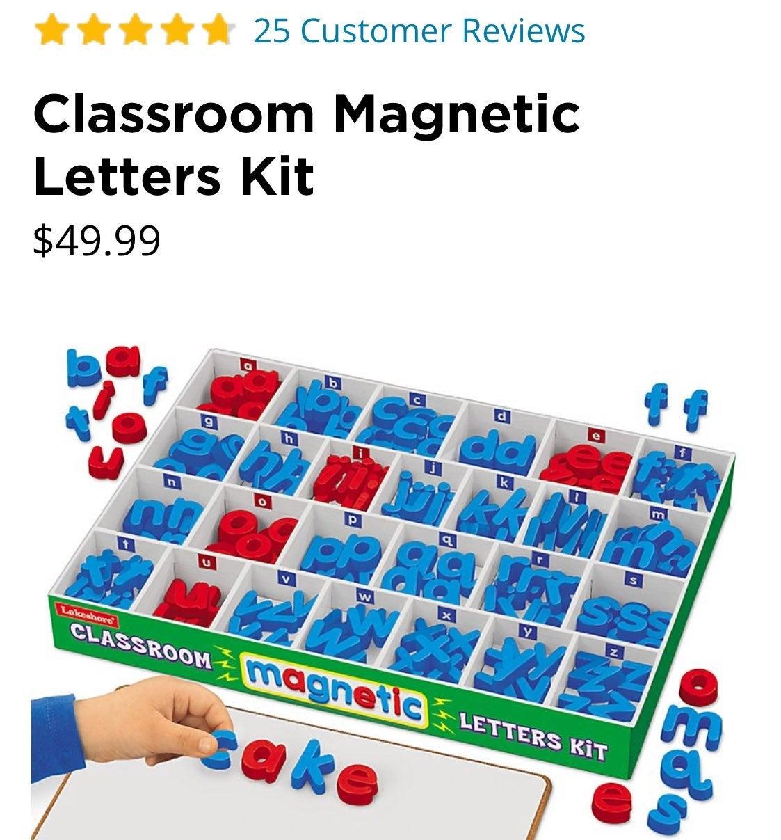 Lakeshore Magnetic Letters set