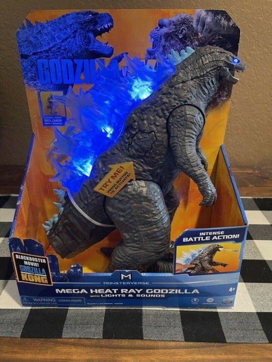 Godzilla vs Kong: Mega Godzilla figure