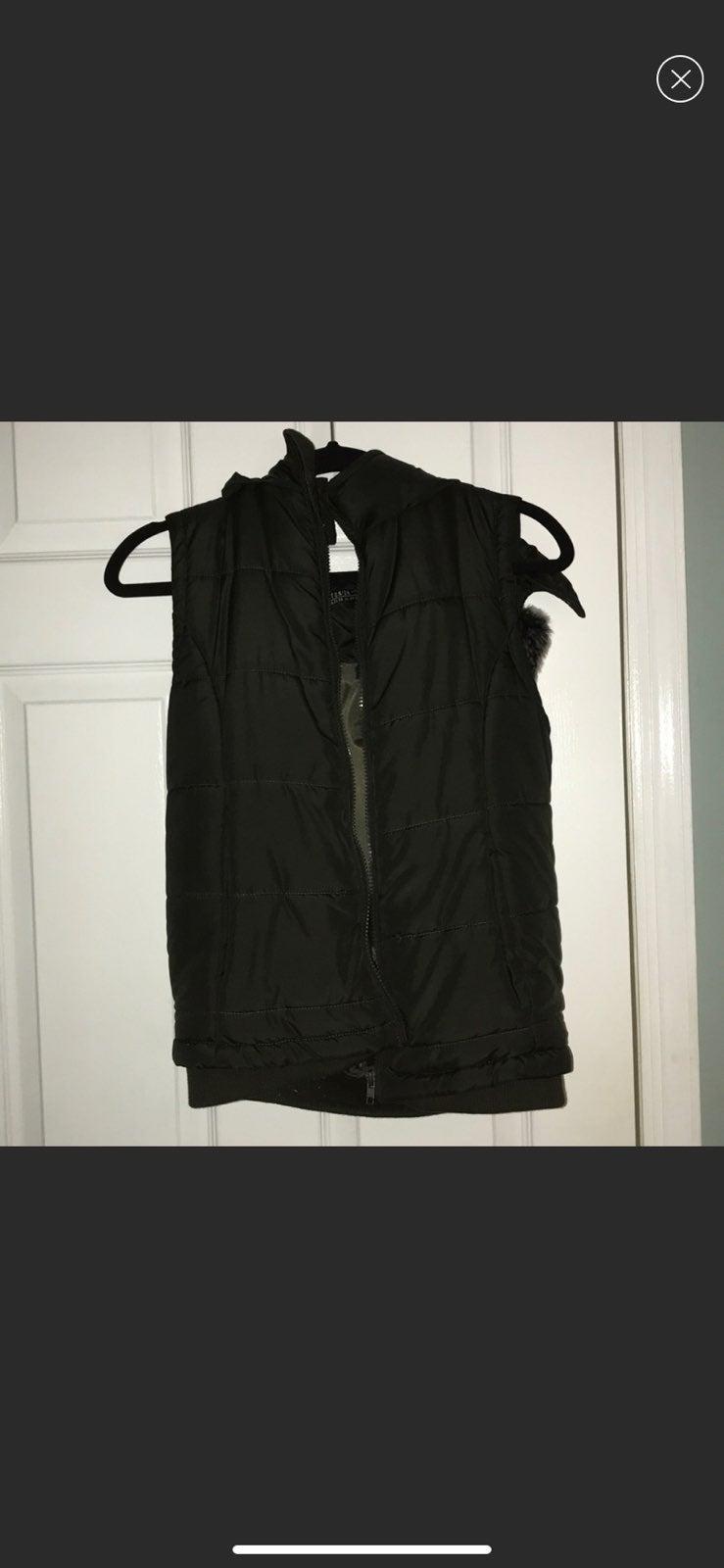 Army green vest