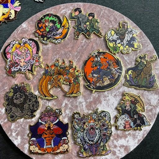 Naruto pins