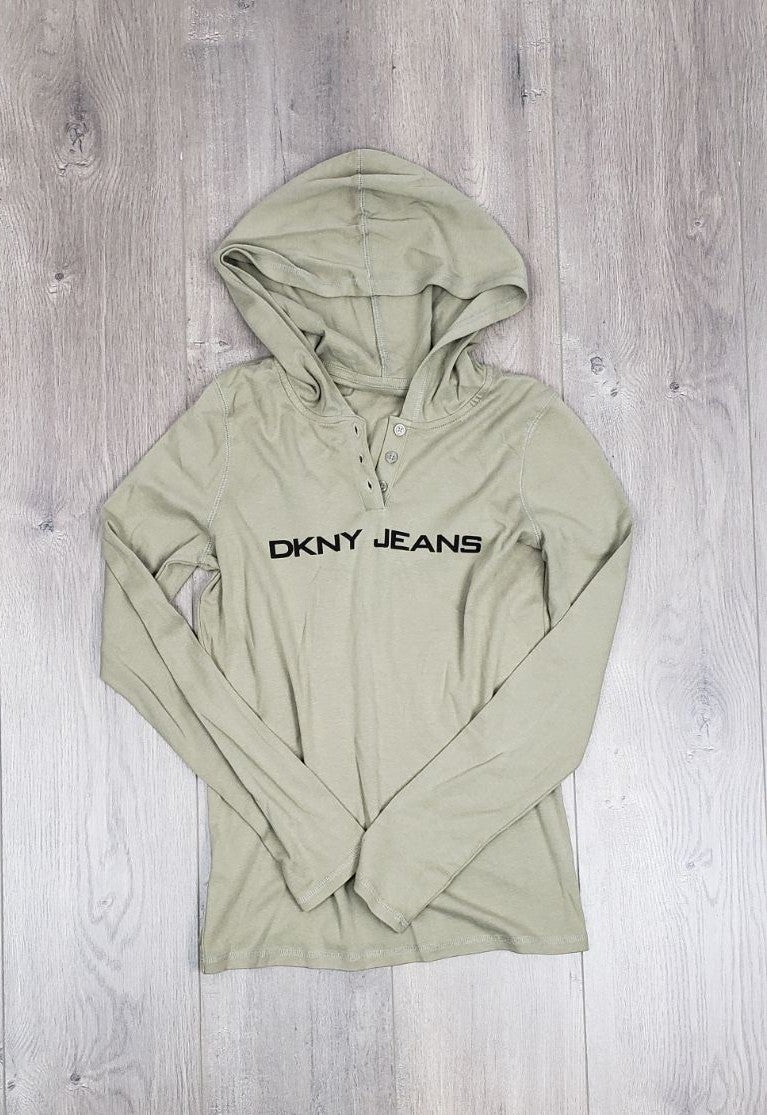 DKNY Jeans Hooded Top