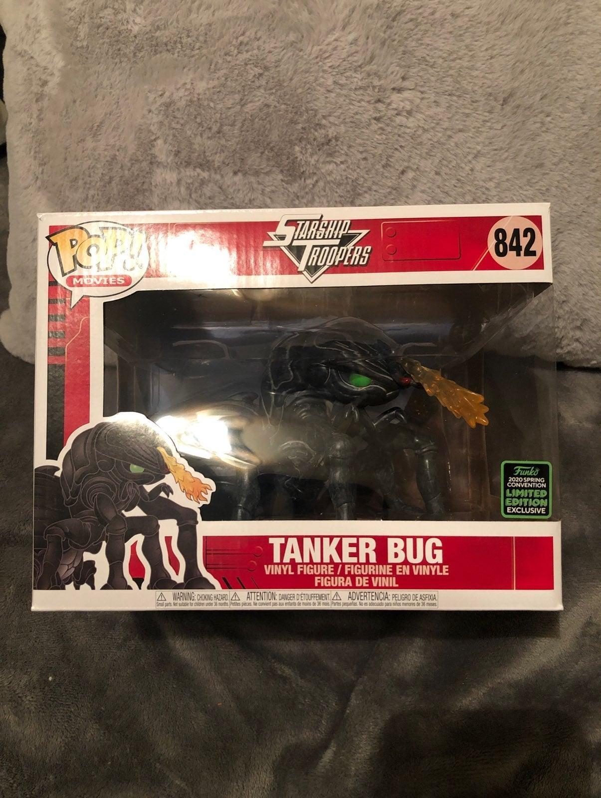 Starship Troopers Tanker Bug 6-Inch Delu
