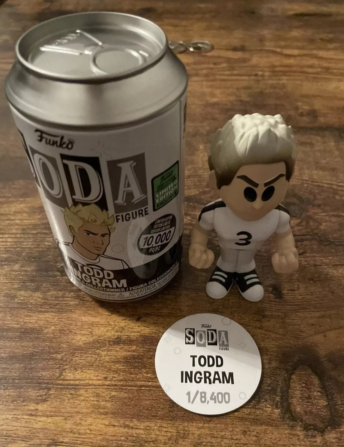 Todd Ingram Funko Soda Common