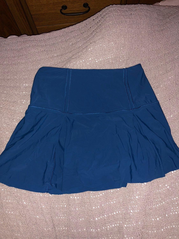 Lululemon Athletica Blue Skirt