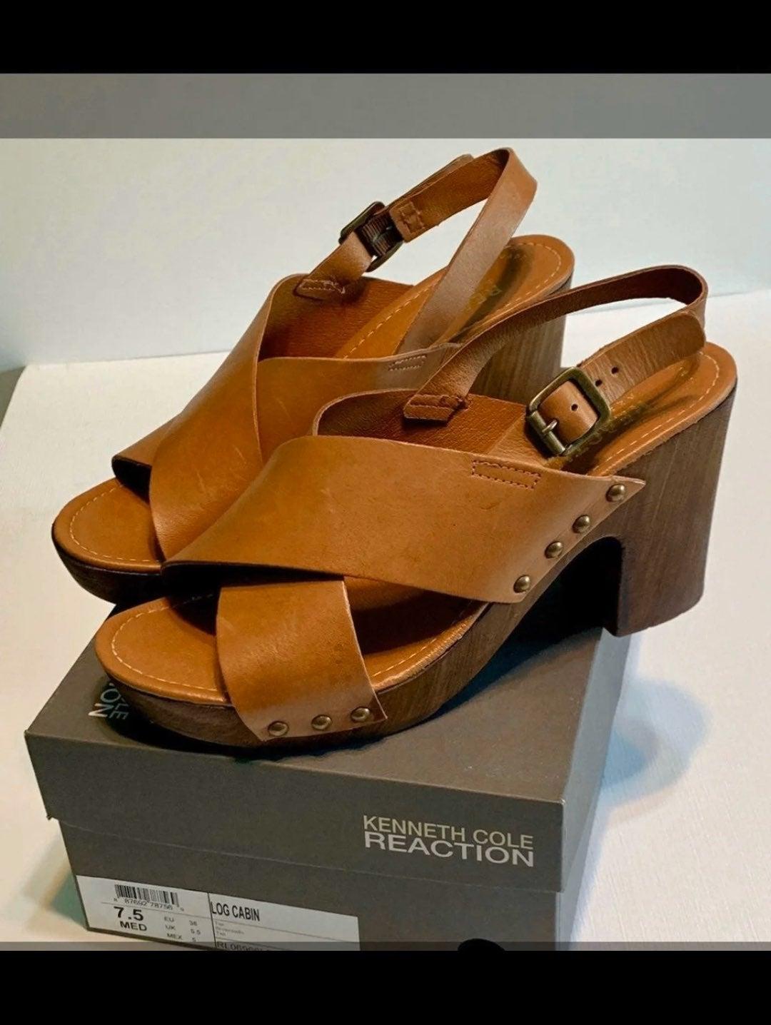 platform sandals Kenneth Cole