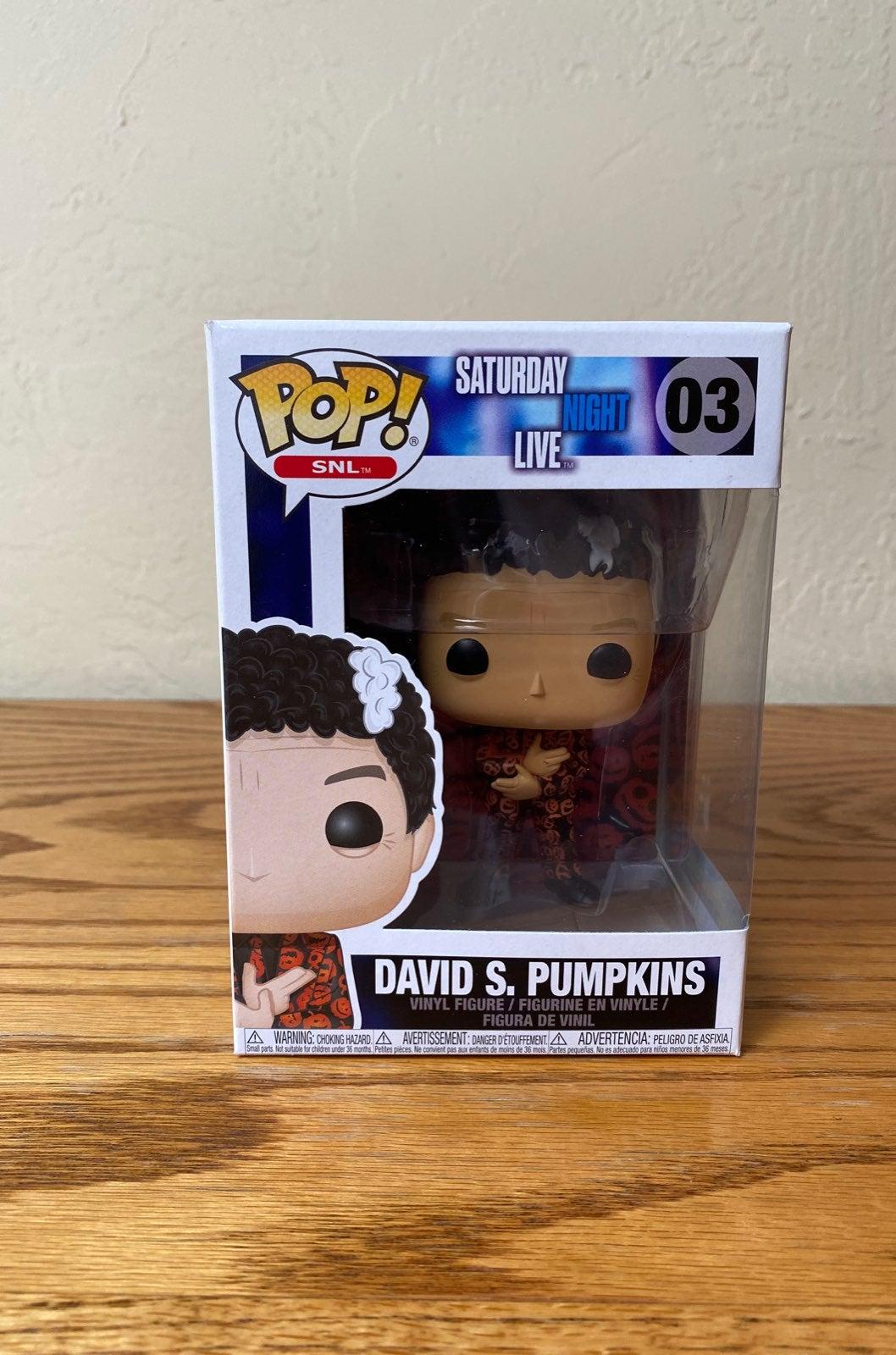 Funko Pop David S Pumpkins