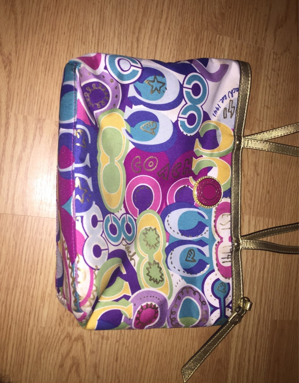 Coach Pocketbook Colorful
