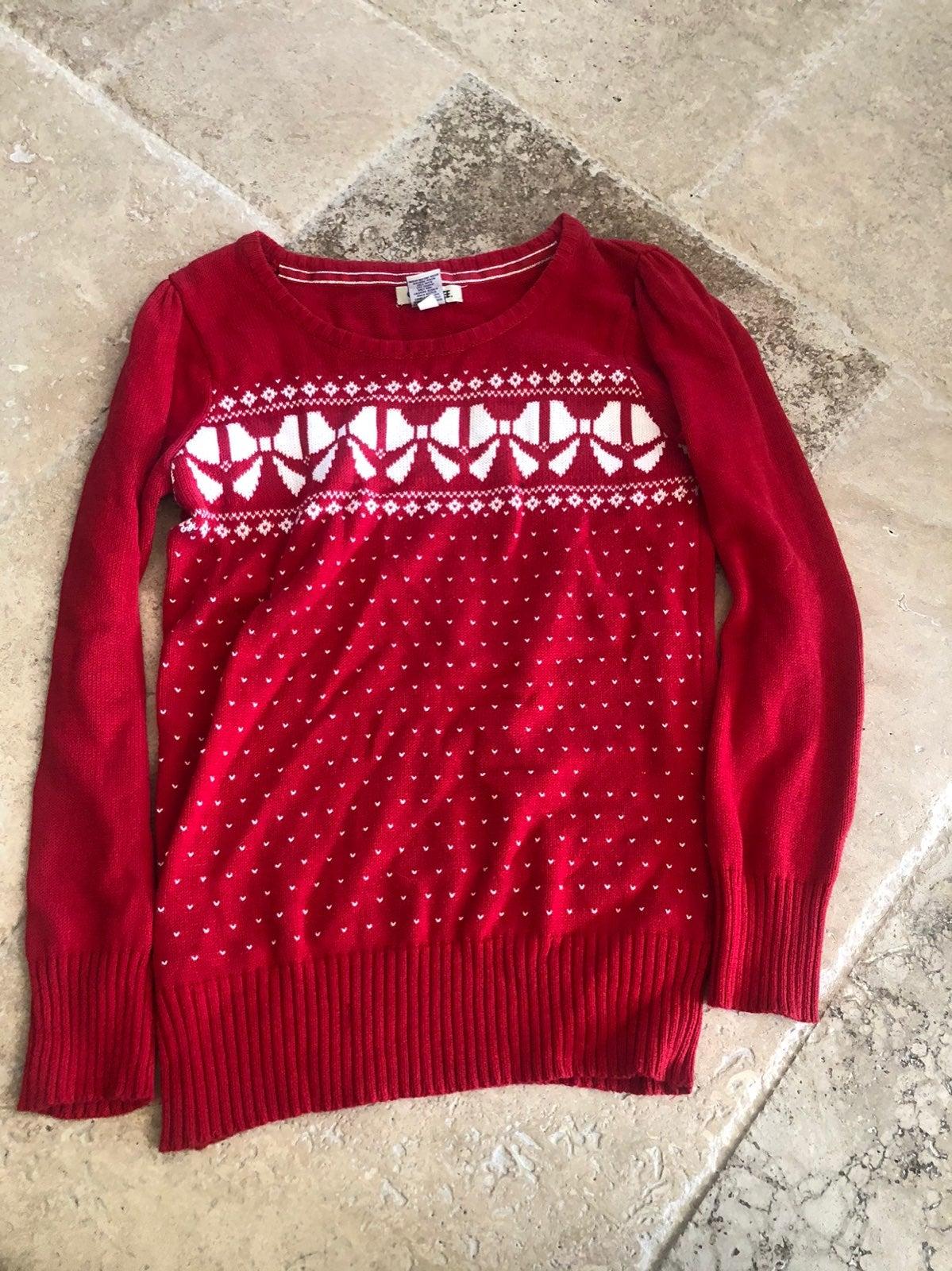 Girls christmas sweater