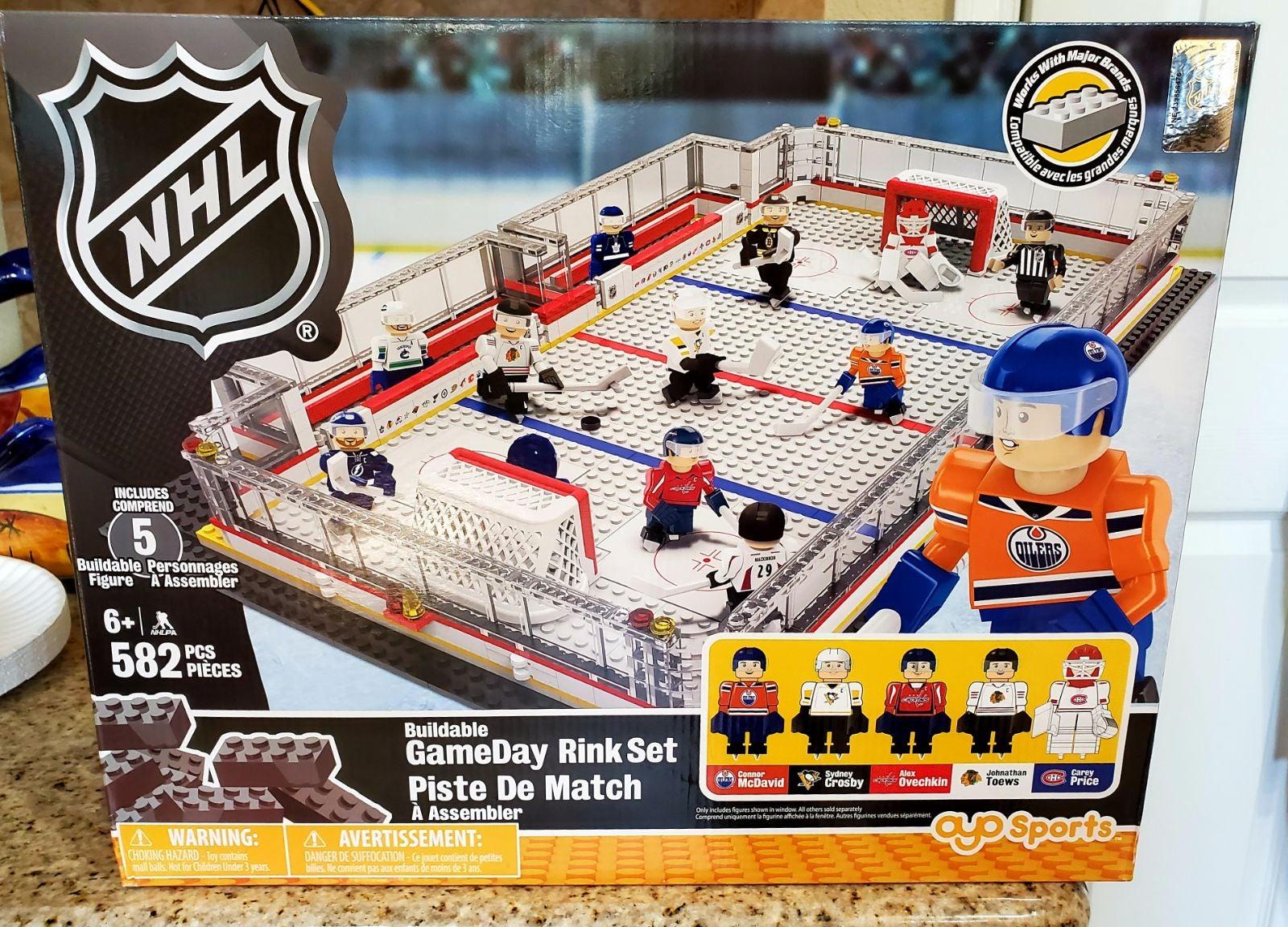 NHL Sports Hockey Rink Building Blocks G