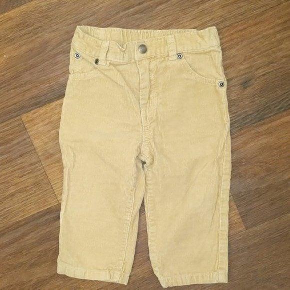 Khaki Tan Corduroy Pants size 18m