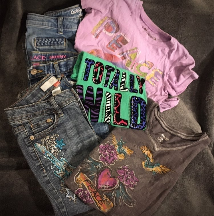 3 Outfit Jeans & Tees Bundle