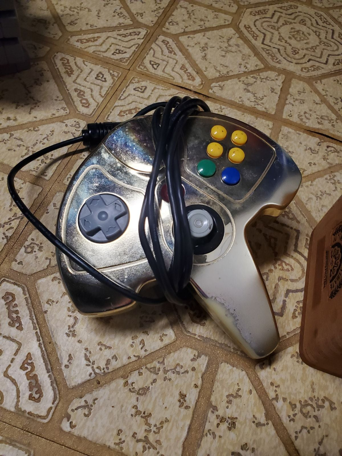 Gold n64 controller