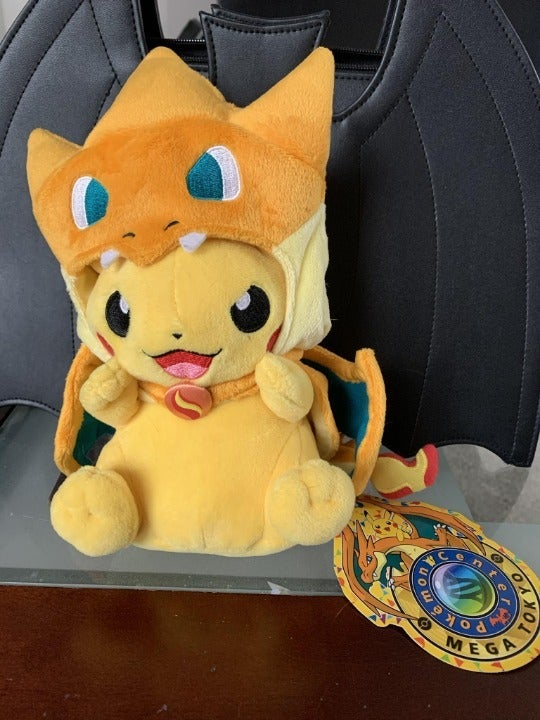 OFFICIAL With Tag Mega Charizard Pikachu