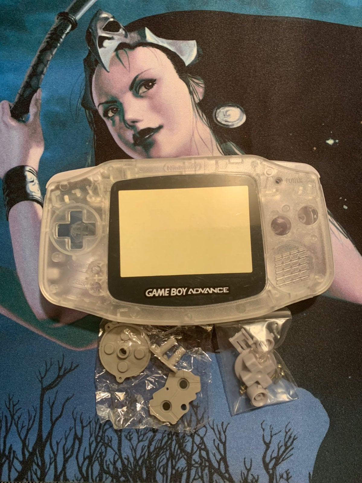 Clear Gameboy Advance Shell