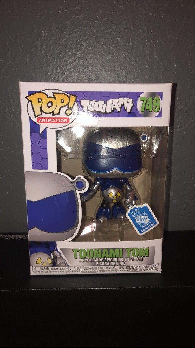 Toonami Tom Funko Pop