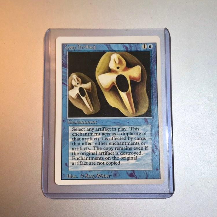 MTG Copy Artifact 1994 Revised Card