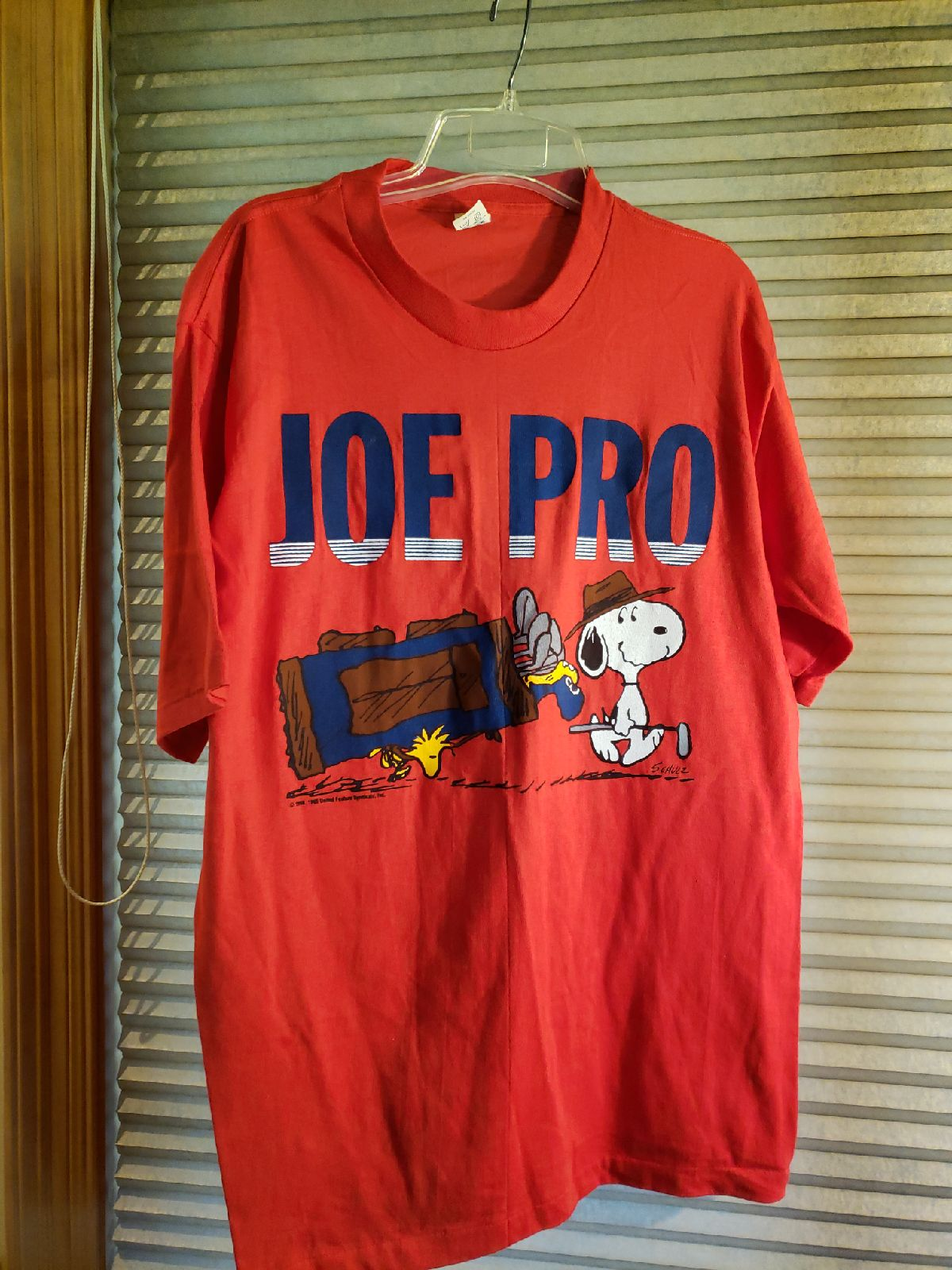 Vintage 1965 Snoopy shirt