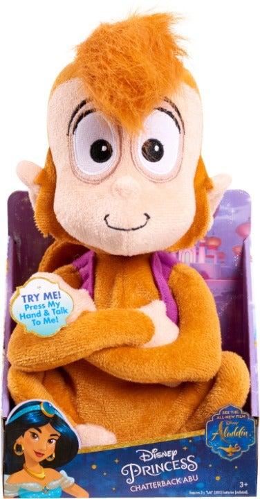 Abu Chatterback Monkey Plush Aladdin Toy